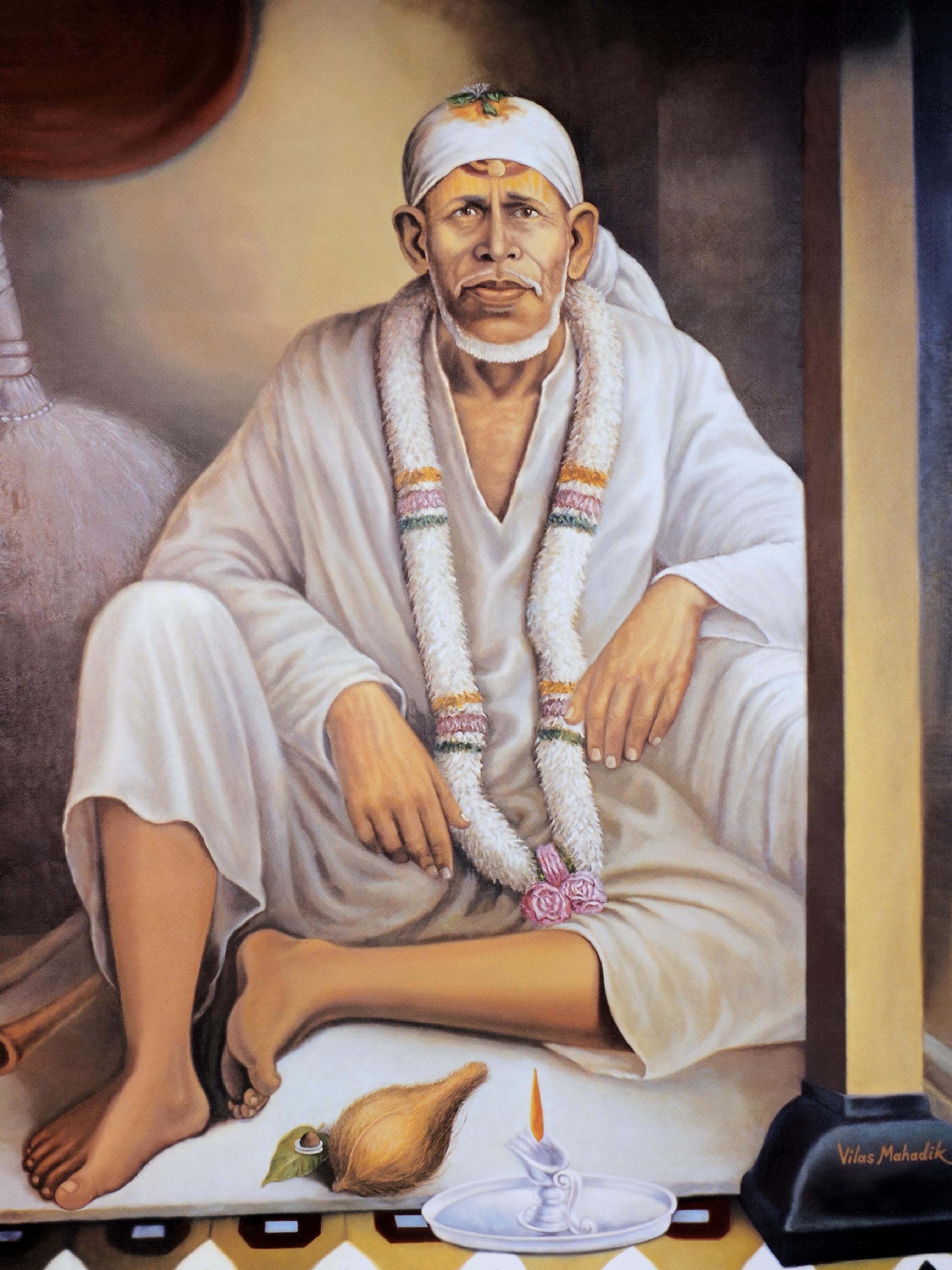 Sai Baba Of India -Wallpapers - Sai Zodiac sign wllpapers